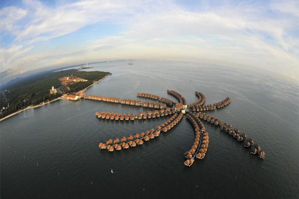 Avani Sepang Goldcoast Resort - Aerial View 1