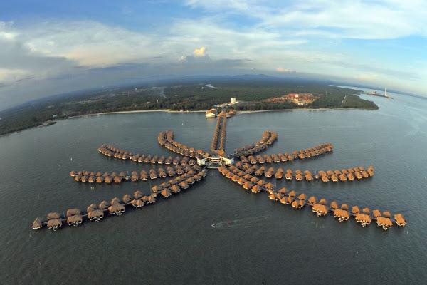 Avani Sepang Goldcoast Resort - Aerial View 2