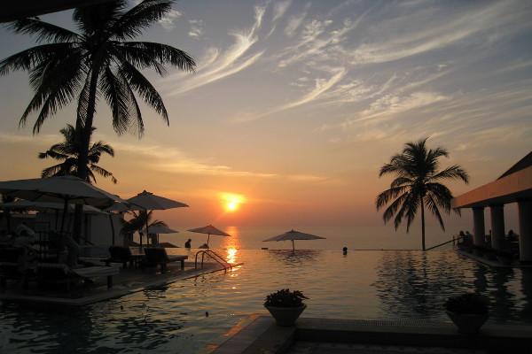 The-Leela-Kovalam - Sunset